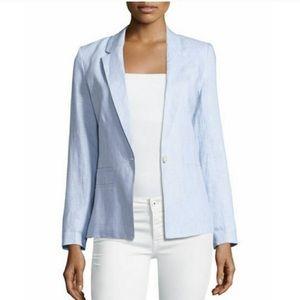 Joie Mehira Blue Linen Blazer